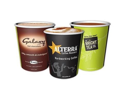 Flavia coffee cups