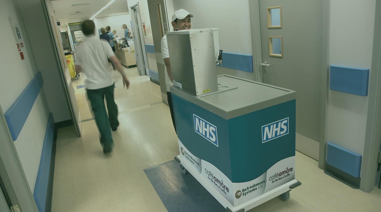 NHS ward coffee and tea