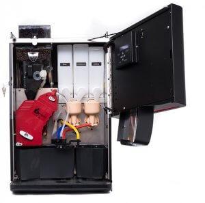 The Vitro X3 Espresso Coffee Machine inner