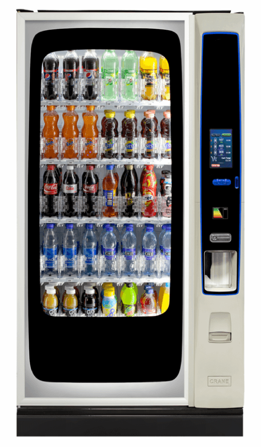 technology in vending - the bevmax 35