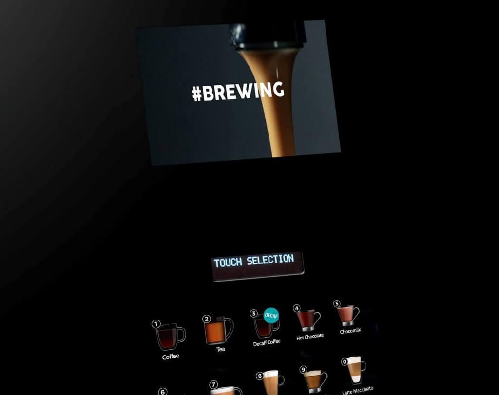 Coffetek NEO vending machine Brewing