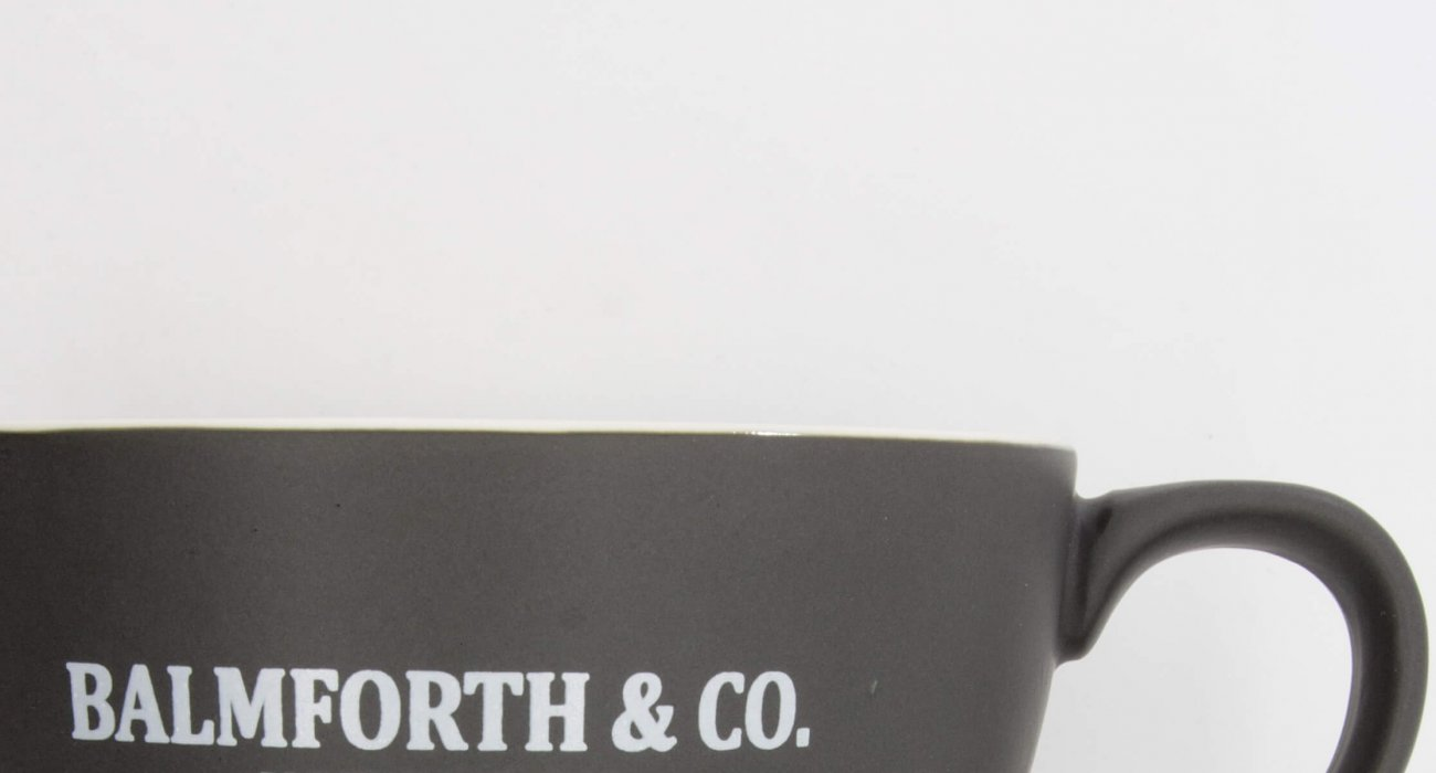 b&co cappuccino mug
