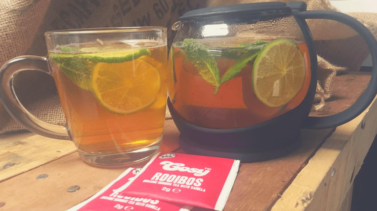 iced tea and coffee
