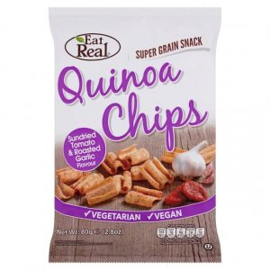 healthy vending - eat real quinoa chips