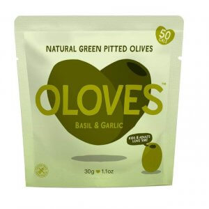 healthy vending - oloves green pitted olives
