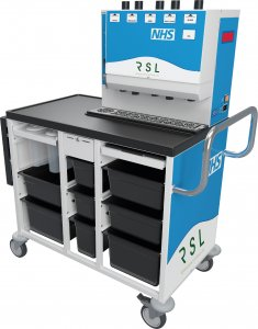 patient hydration - ward beverage trolley