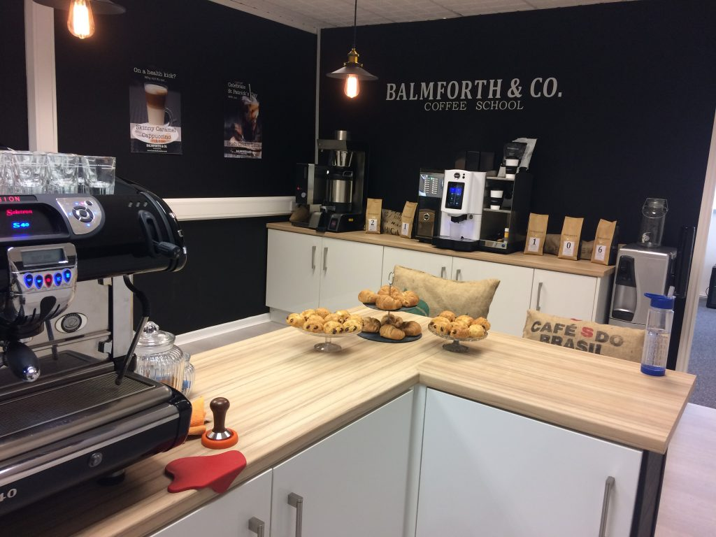 the best office design - balmforth & co coffee school