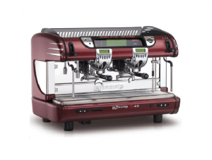 la spaziale s40 2 group burgundy