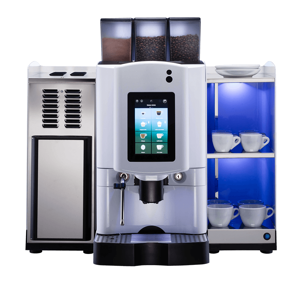 the touch bean to cup coffee machine
