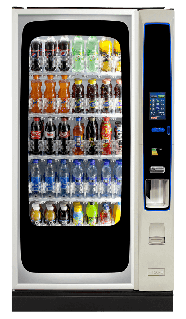 bevmax 4 cold drink vending machine