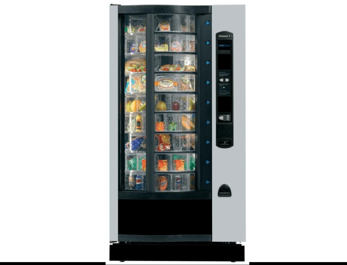 the shopper freestanding food vending machine