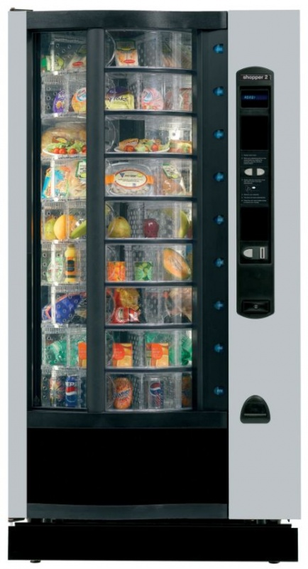the shopper food vending machine