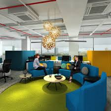 the best office design - break out area
