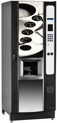 Refurbished coffee vending machine