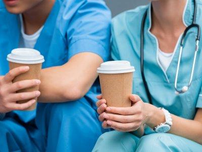 hospital coffee machine