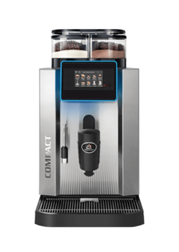 compact bean to cup coffee machine