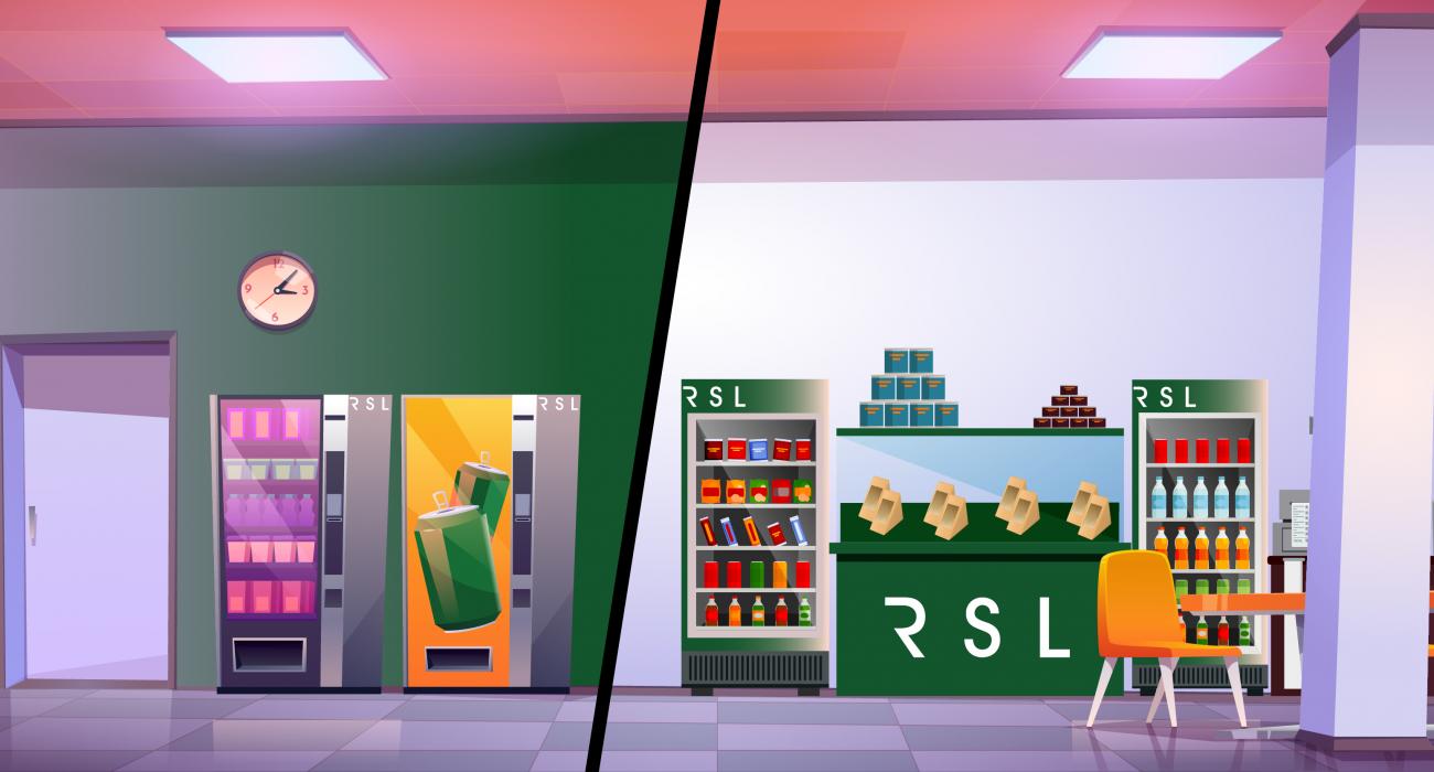 Vending machines vs Micro-Markets